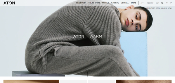 ATON - エイトン - aton-tokyo.com