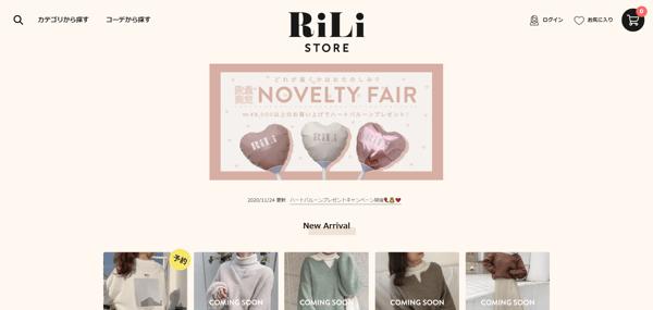 RiLi STORE - store.rili.tokyo
