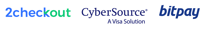 2Checkout/CyberSource/BitPay